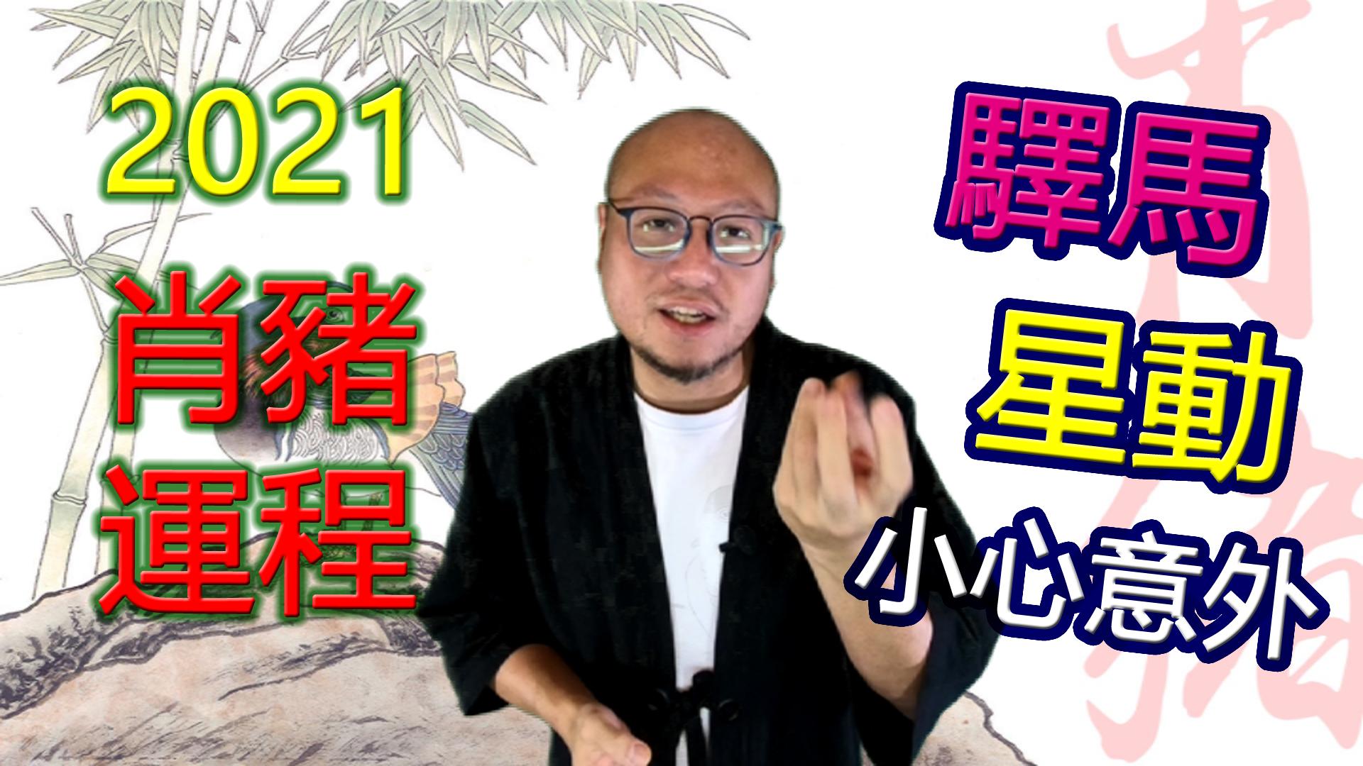 2021年【肖猪】辛丑牛年生肖运程